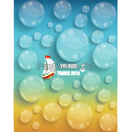 transparent water drops background tourism