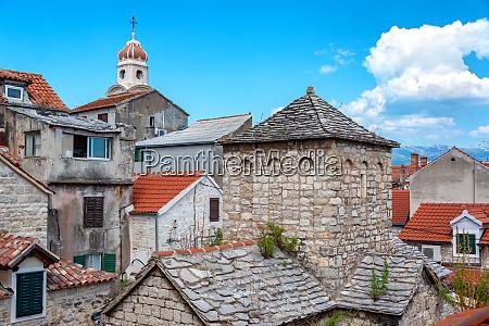 historic architecture in split croatia