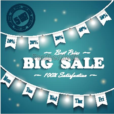 big sale poster last chance 5