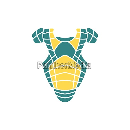 baseball chest protector icon