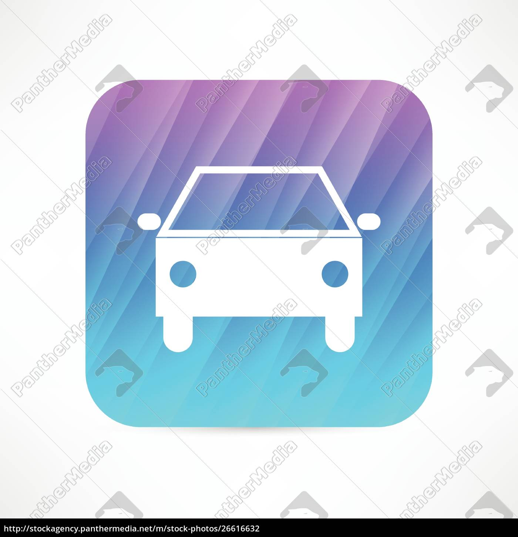 car, icon - 26616632