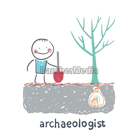 archaeologist is the place where the