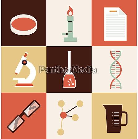 scientist chemist illustration