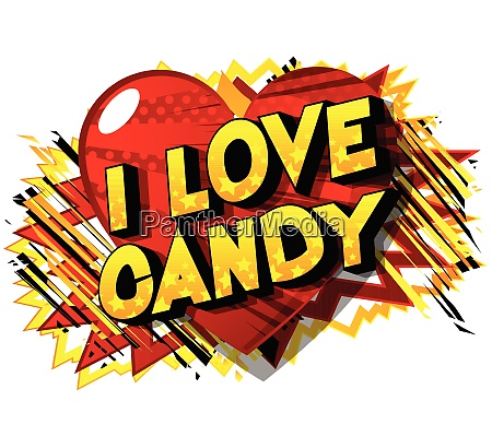 i love candy comic book