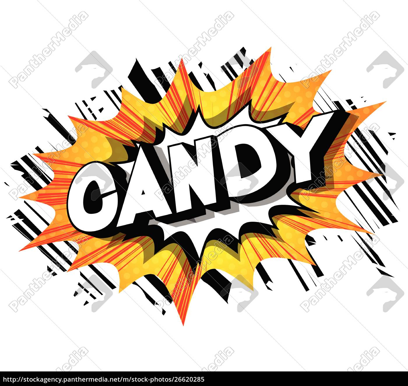 candy, -, comic, book, style, phrase. - 26620285