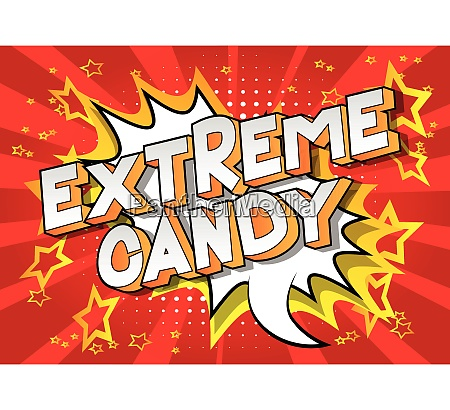 extreme, candy, -, comic, book, style - 26620287