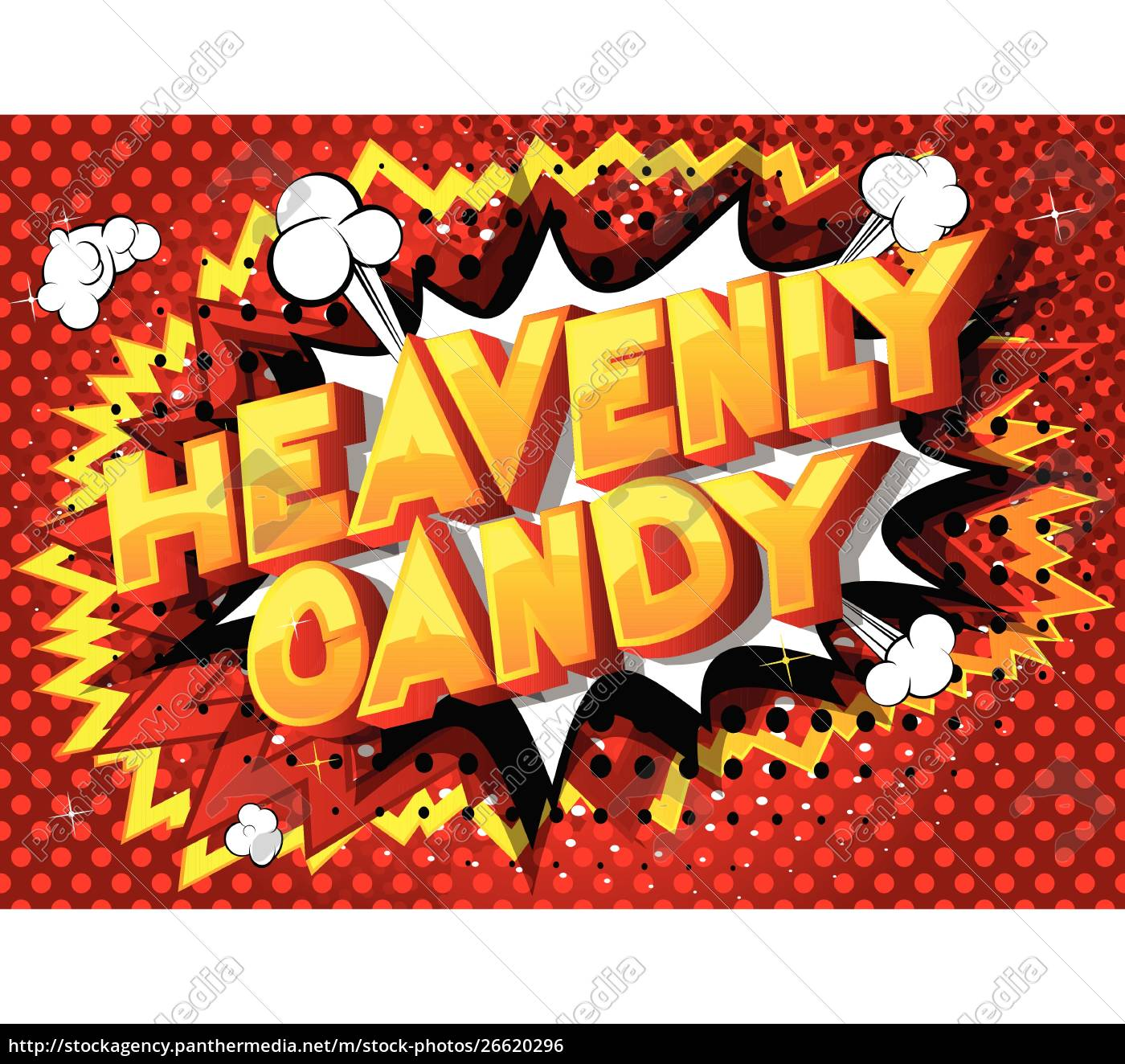heavenly, candy, -, comic, book, style - 26620296