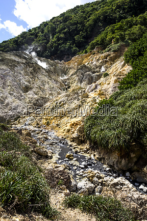 st lucia at soufriere sulfur