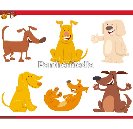 funny dogs or puppies cartoon characters