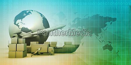 global distribution network