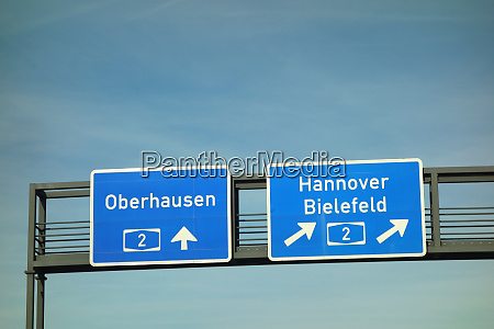 federal motorway oberhausen hannover bielefeld