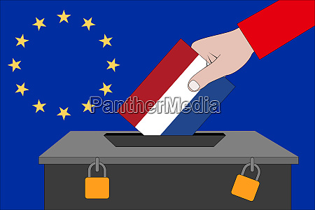 netherlands ballot box for the european