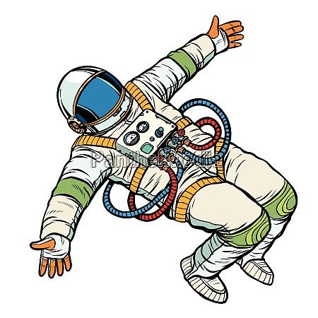 astronaut wants a hug