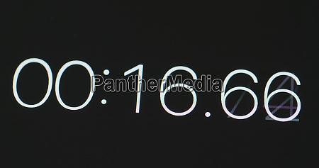 starting digital timer