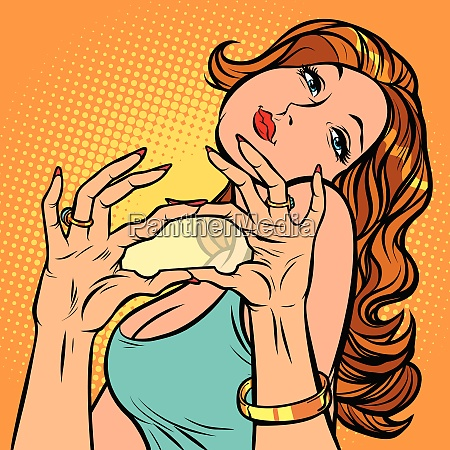 woman dreams of car hand gesture
