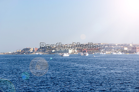 view of embankment of hurghada with
