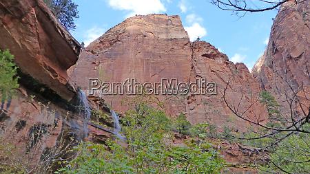 waterfalls at red rocks