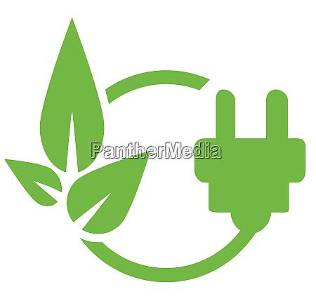 renewable energy eco green illustration save