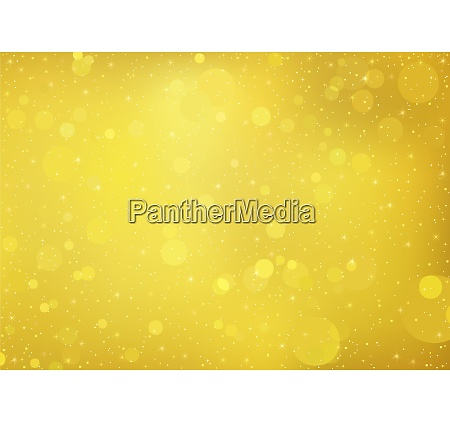 gold bokeh background with sparkling effect