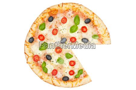 pizza margarita margherita diagram chart info