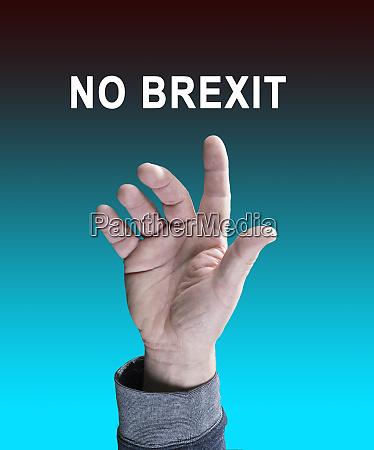 no brexit symbol foto