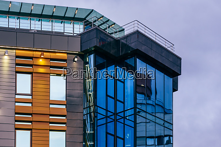 modern high rise building with a