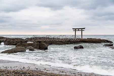 japanese oarai isozaki shrine