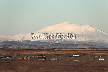 iceland landscap eyjafjallajoekul volcano