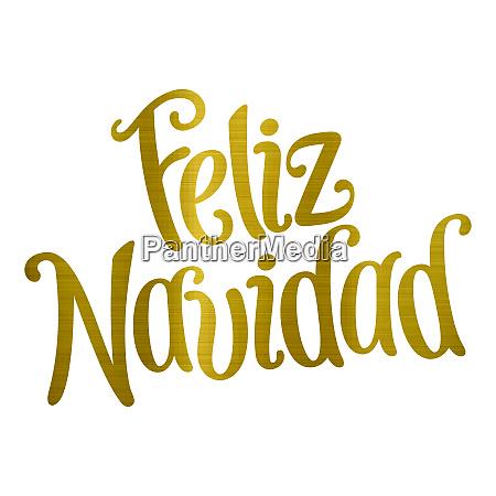 merry christmas translation feliz navidad golden