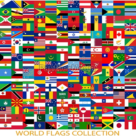 flags of the world and