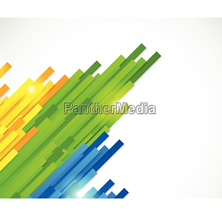 colorful straight lines design for brazil