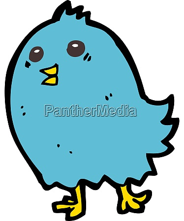 dibujos animados bluebird