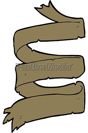cartoon old scroll