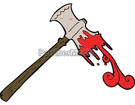 cartoon slayer axe
