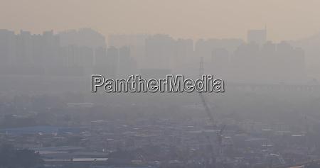air pollution of hong kong city