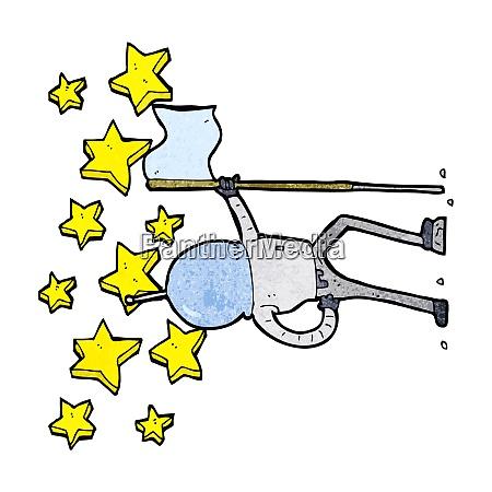 cartoon amazing astronaunt