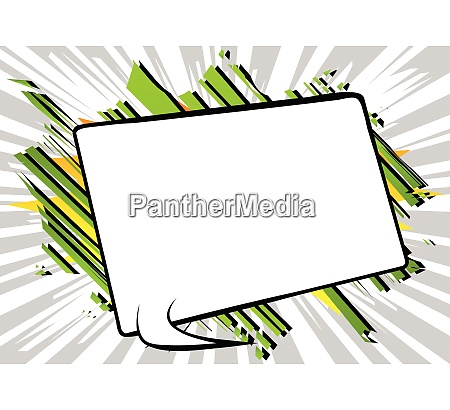 comic, book, background, with, big, blank - 26737220