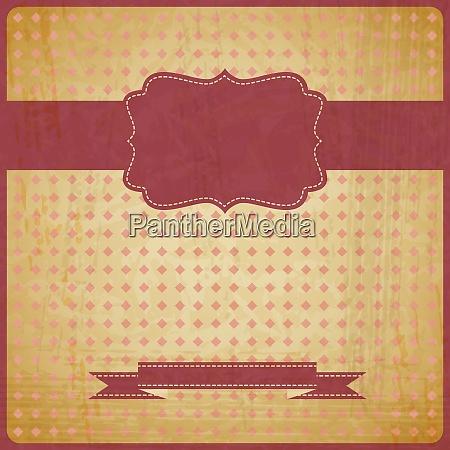 eps10 vintage grunge old card
