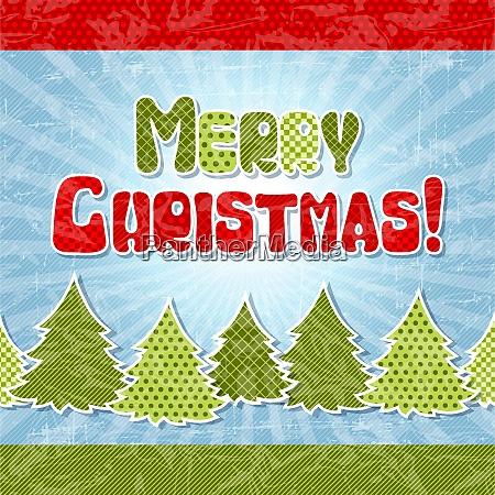 eps, 10, christmas, retro, background, in - 26767932