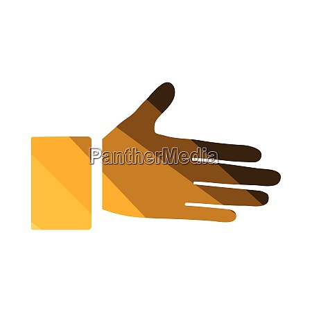 open, hend, icon - 26768848