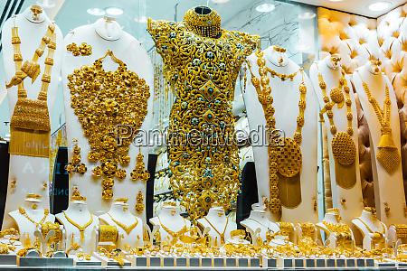 show window of a jewelry store