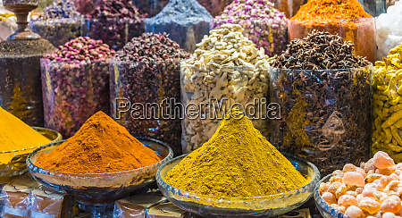 spices and herbs on the arab
