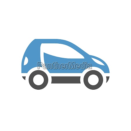 vehicle flat icon mini car
