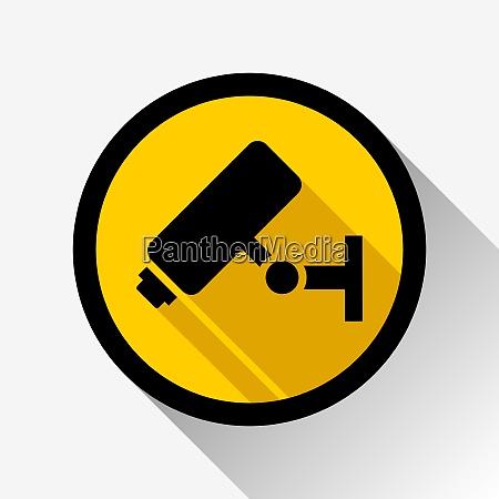 video surveillance icon video surveillance icon