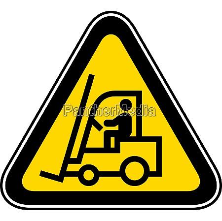 triangular warning hazard symbol triangular yellow
