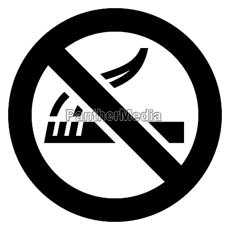 no smoking black sign no smoking