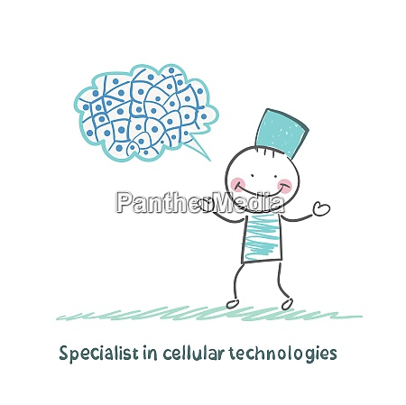 specialist in cellular technologies thinks of