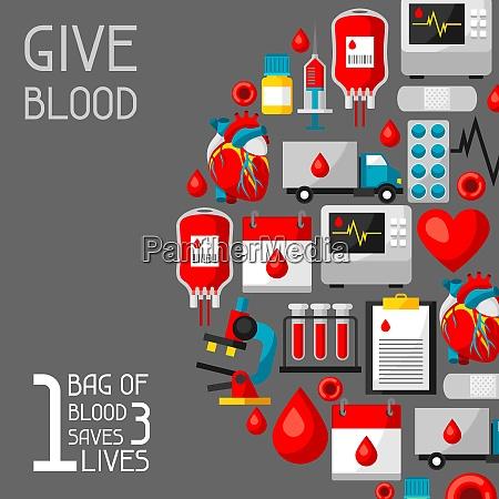1 bag of blood saves 3