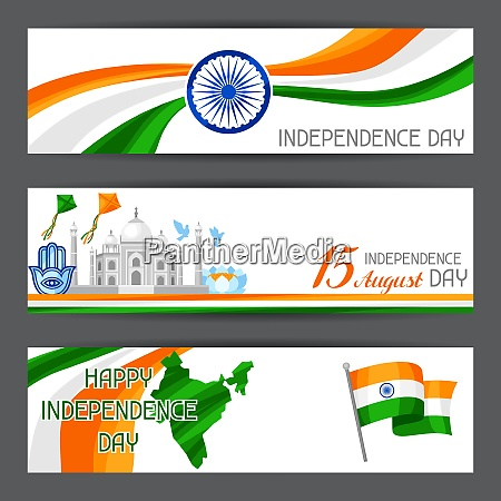 india independence day banners celebration 15