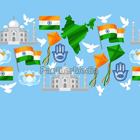 india independence day greeting card celebration